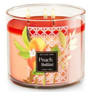 New Bath Body Works 3 Wick Candle